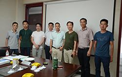 碧桂园集团浙江省区域领导来我司参观考察